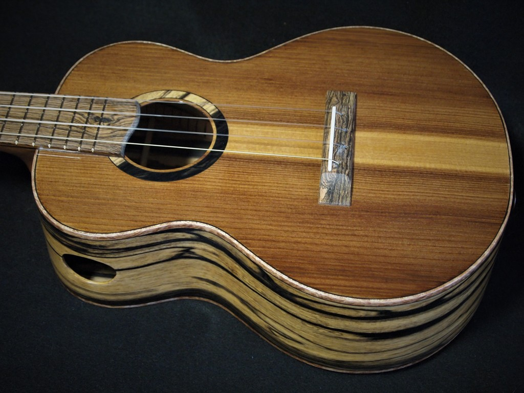 pier piling super tenor ukulele