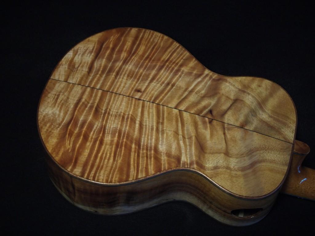 custom koa mix tenor ukulele