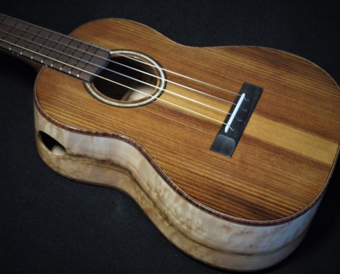birseye maple tenor ukulele