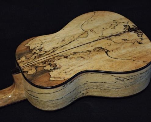 spalted tamarind and fir tenor ukulele