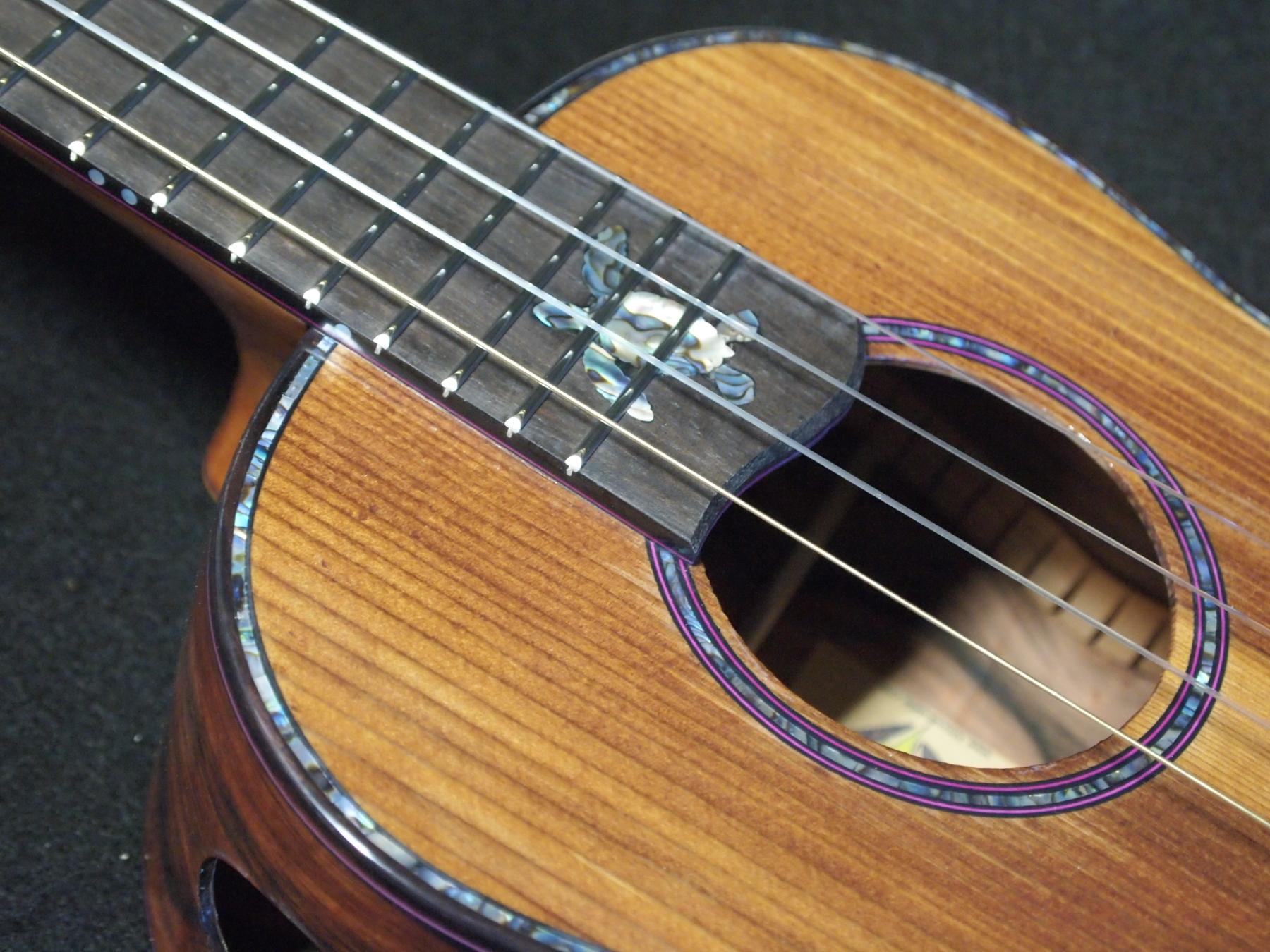 macassar pier piling tenor ukulele