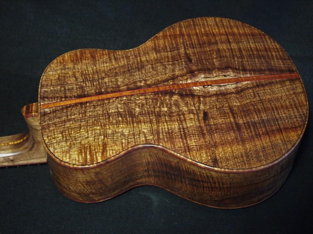 koa and pie piling fir ukulele