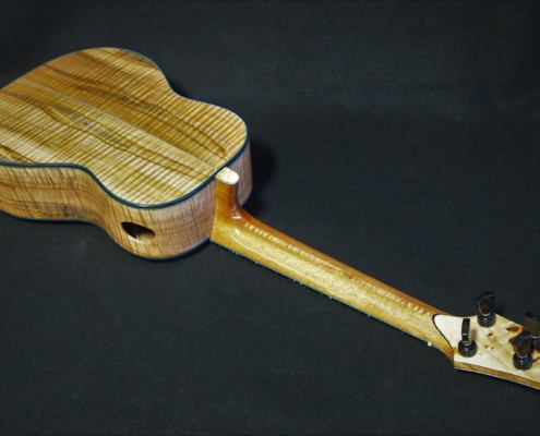earthtone cedar and ambrosia maple tenor ukulele