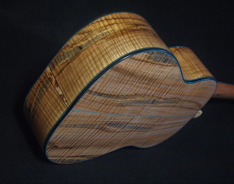 earthtone cedar and ambrosia maple tenor ukulele