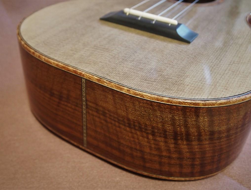 denim walnut tenor ukulele