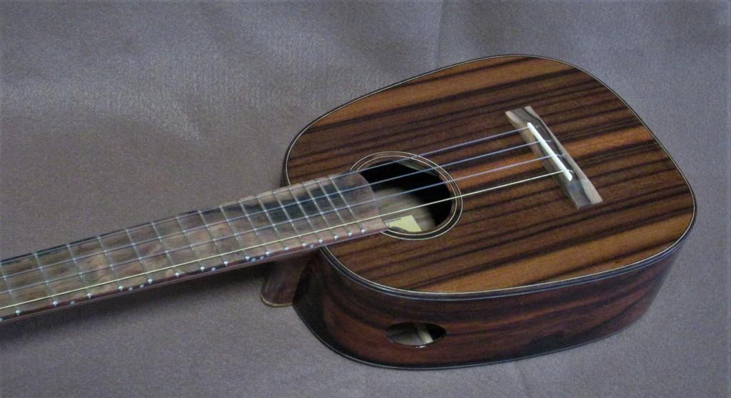 macassar sinker redwood pineapple ukulele
