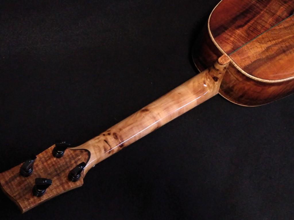 koa tenor pineapple ukulele madness
