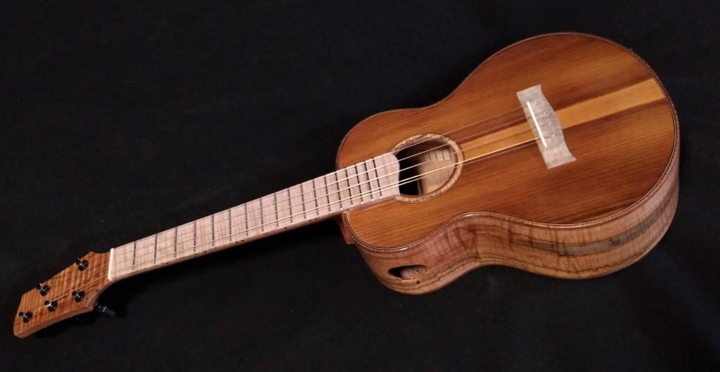 5 string super tenor ukulele